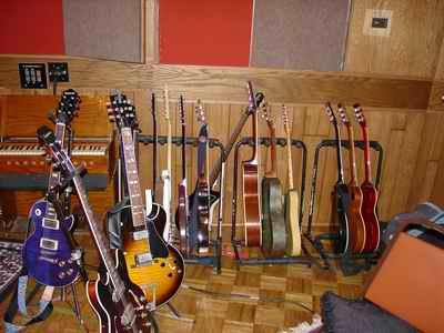Luther Dikinson John Hiatt session Guitars Memphis Ardent Studio