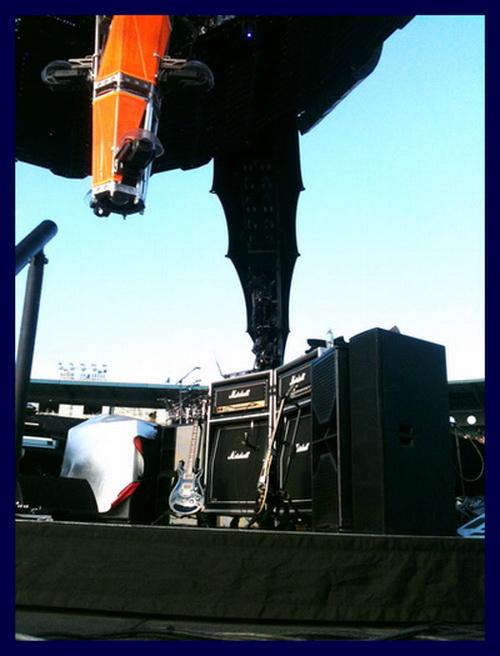 Shaun Carrington Marshall Rig U2-360 Jay-Z Tour 2010