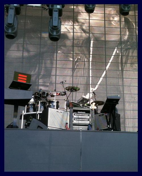 Tony Russell Bass Rig Yankee Stadium 2010