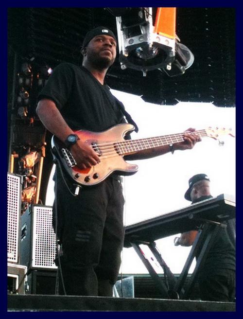 Tony Russell PBass U2-360 Jay-Z Tour 2010