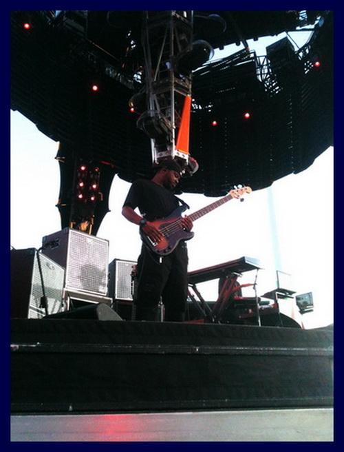 Tony Russell PBass U2-360 Jay-Z Tour