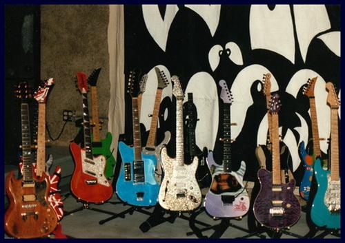 Dweezil Zappa and Frank Zappa Guitars1991