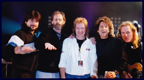 Kurt Howel Kieth Knudsen Dave Pops Clements George Hawkins Jr. John Stahaley Yazawa Tour 1989