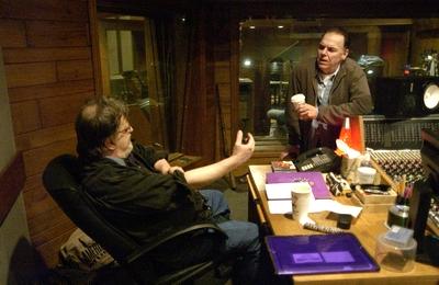 Jim Dikinson and John Hiatt Memphis Ardent Studios