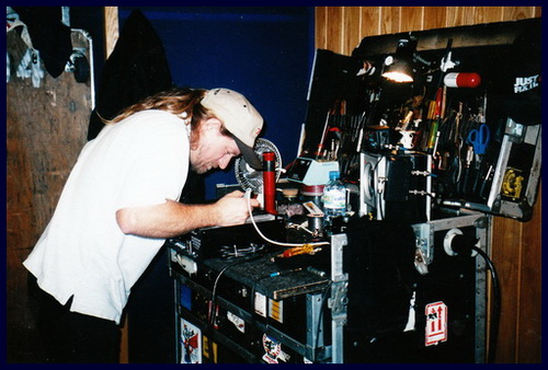 Dave Pops Clements Bradshaw RSB-18 Repair.