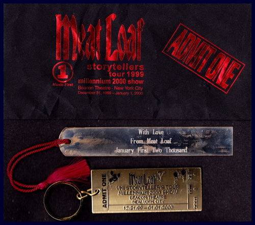 Meat Loaf VH-1 Storytellers Tour 1999 Millennium 2000 Show Beacon Theatre